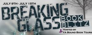 breaking glass banner