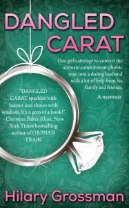 dangled carat book cover